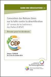 Résumé pour les décideurs - CdP12-Désertification - version en français