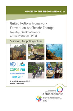 722_Couv_Summary_COP23-Bonn-2